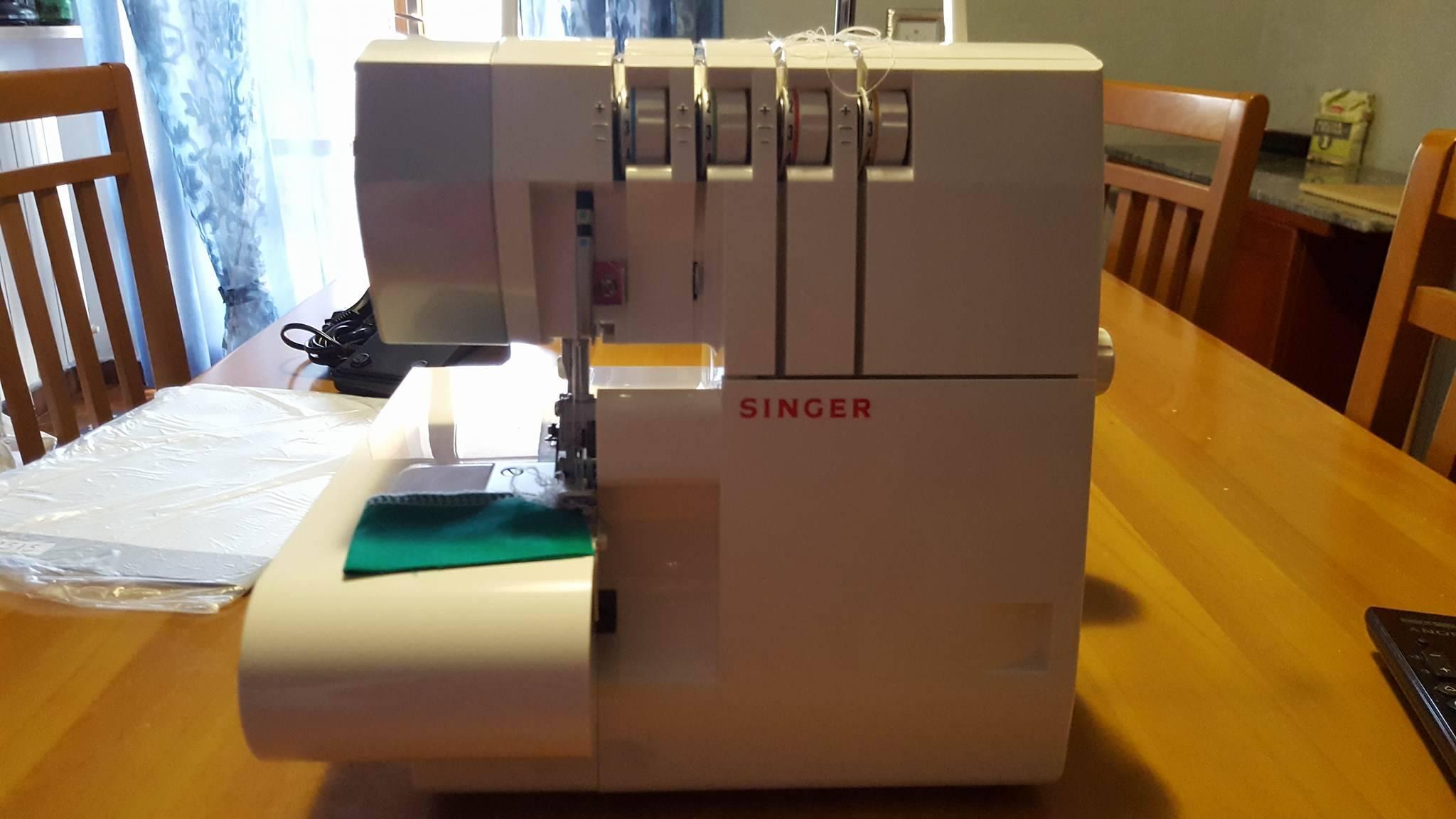 Taglia e cuci singer acquistata alla lidl manicreative for Lidl offerte della settimana macchina da cucire
